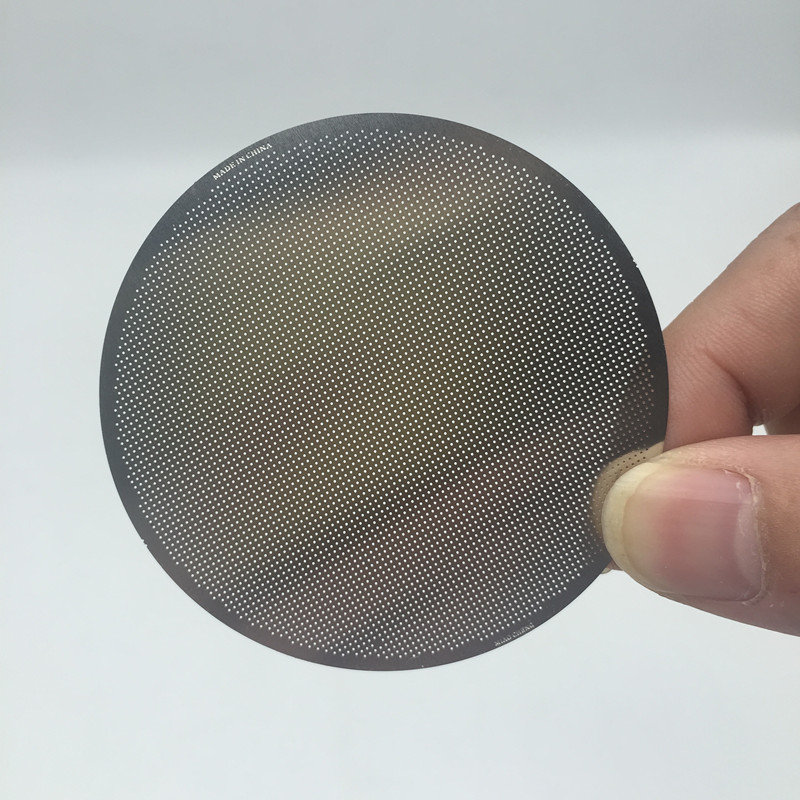Rozsdamentes acélszűrő Újrafelhasználható fémszűrők Aeropress és Espresso Maker kávészűrők számára