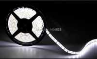 Wholesale 10lotS 5m 300LED 5050 SMD 12V flexible light 60led/m LED strip, white/warm white/blue/green/red/yellow