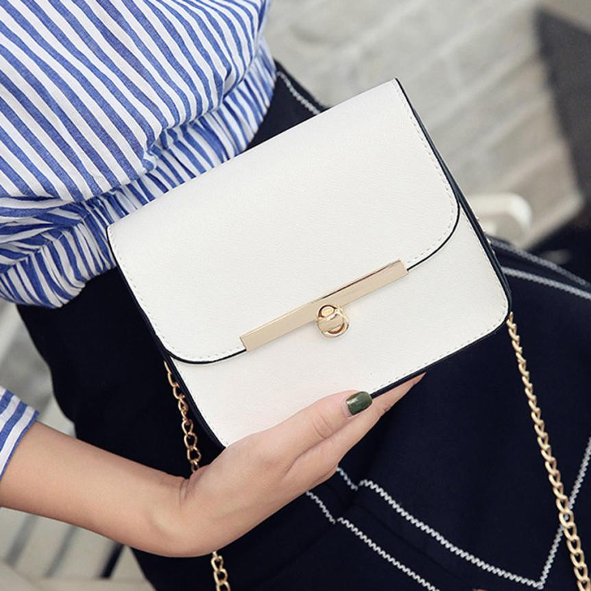 Molave Shoulder Bag new high quality Leather Messenger Ladies Small Clutches Chain Crossbody Tote shoulder bag women Mar19