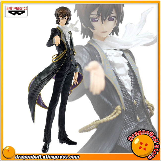 Japan Anime Code Geass: Lelouch of the Rebellion Original Banpresto EXQ Collection Figure - Lelouch Lamperouge инструменты для маникюра и педикюра vivienne sabo пилка стеклянная
