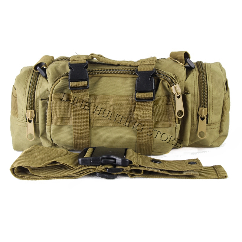 Free Shipping 600D waterproof Oxford fabric Climbing Bags Outdoor Military Tactical Waist Pack Molle Camping Hiking Pouch Bag astraea electric bass bag 600d nylon oxford 10mm thick sponge soft case 125cm free shipping
