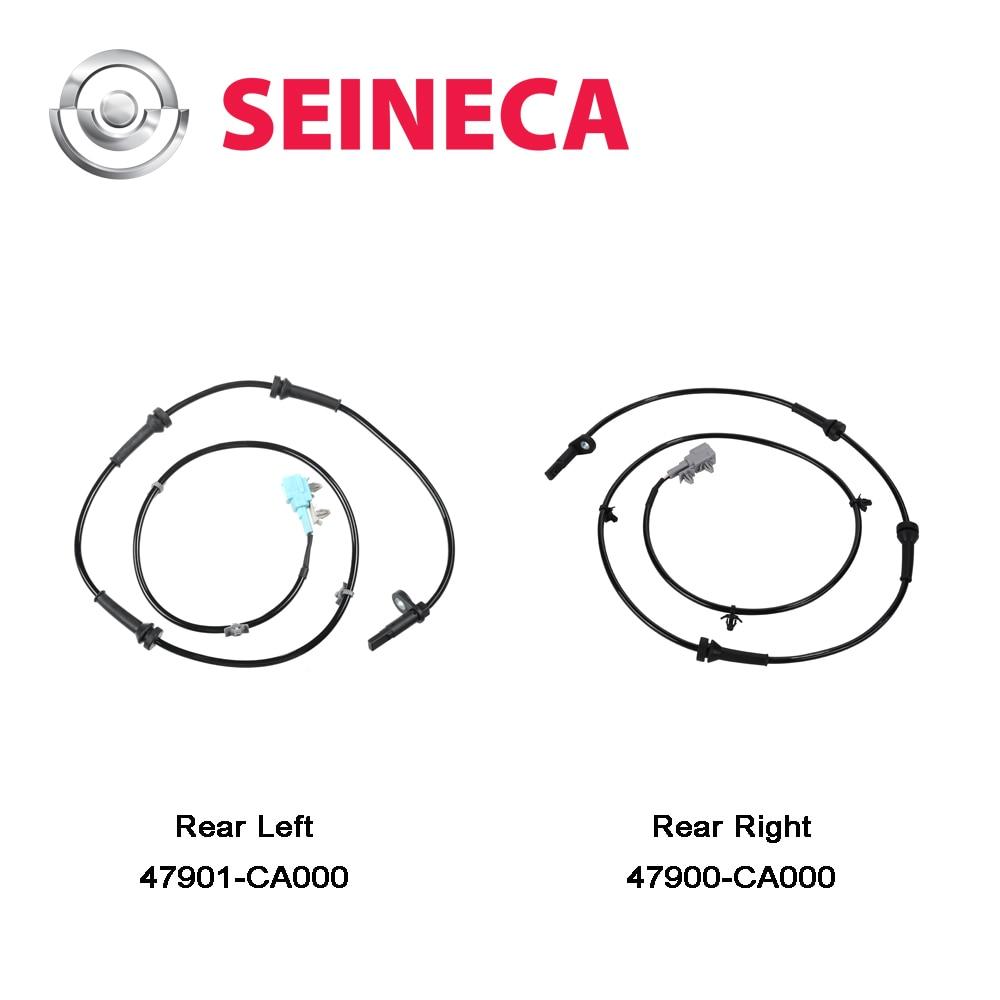 CGQ 1Set ABS Sensor Rear Left Right For Nissan Murano V6 3