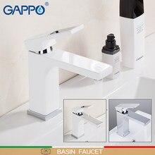 GAPPO Basin Faucet chrome wash basin sink faucets bathroom basin sink mixer brass water taps bathroom mixer taps torneira