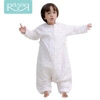 0 6years Baby Sleeping Bag official store Sleepware baby girls blanket bathrobe Cotton children kids Sleepwear Clothes