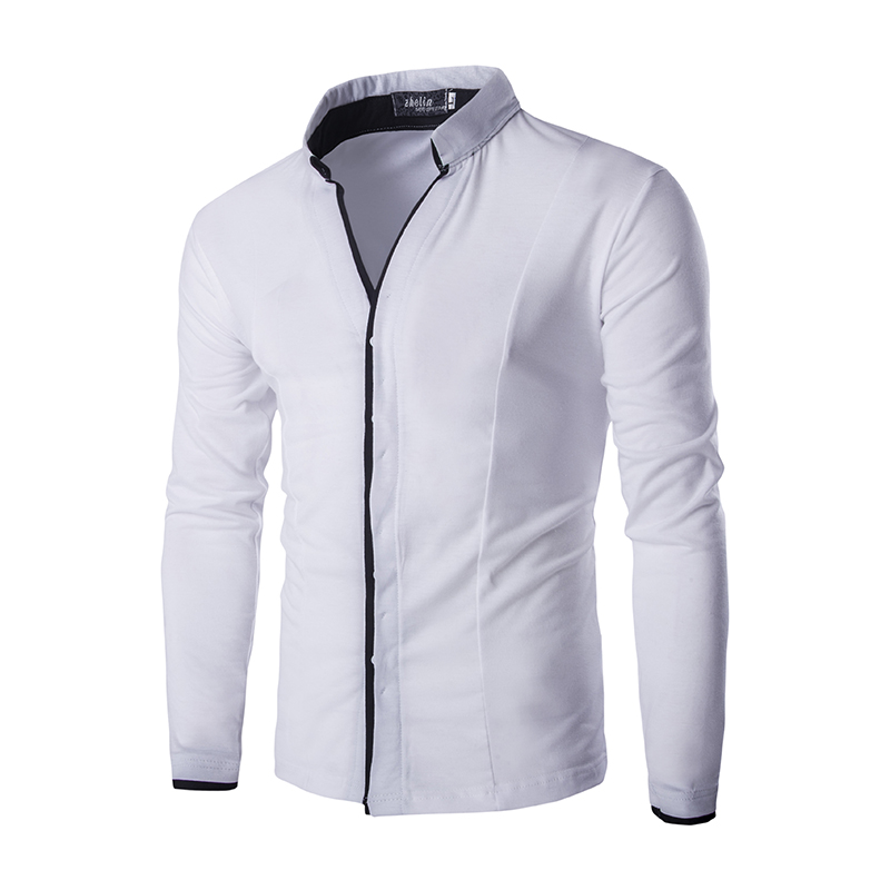 Popular White Shirt Mens-Buy Cheap White Shirt Mens lots from ...