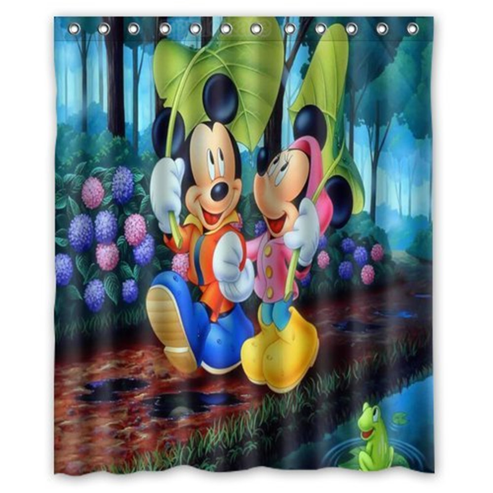 new mickey mouse shower curtains