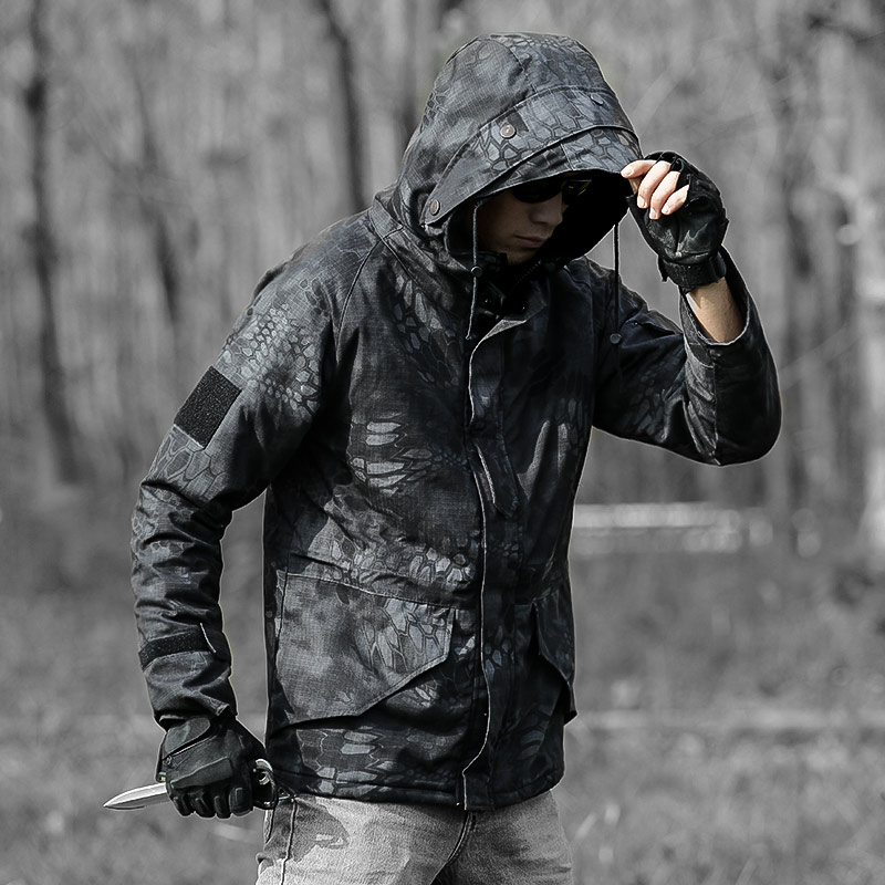 Erkek Kıyafeti'ten Ceketler'de Askeri Bombacı Kış Ceket Erkekler Taktik Savaş Ceket Su Geçirmez Rüzgarlık Sıcak Ceketler Ceket Erkek Avcılık Yürüyüş CS Giysileri'da  Grup 1