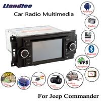 Liandlee For Jeep Commander 2006~2008 Android Car Radio CD DVD Player GPS Navi Navigation Maps Camera OBD TV HD Screen Media