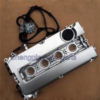 Cubierta de válvula de motor de aluminio nueva OEM #55564395 55558673 para Chevrolet Cruze Aveo 1.6L Saturn Astra Z16XER A16XER A16LER Z18|Válvula de control de aire en reposo| |  -