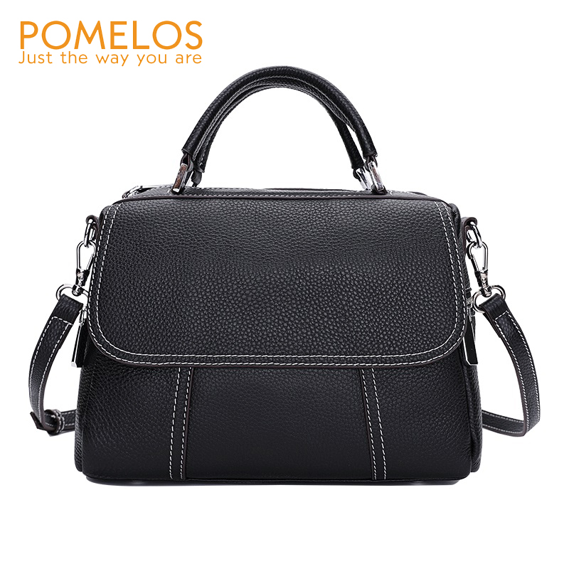 POMELOS Women Handbag Real Leather Woman Shoulder Bag 2019 New Arrival Women Bag Crossbody Bags For
