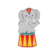 Pequeno elefante bordado remendo Bordado Applique Bordados de Ferro Sobre o mongol 10 pçs/lote