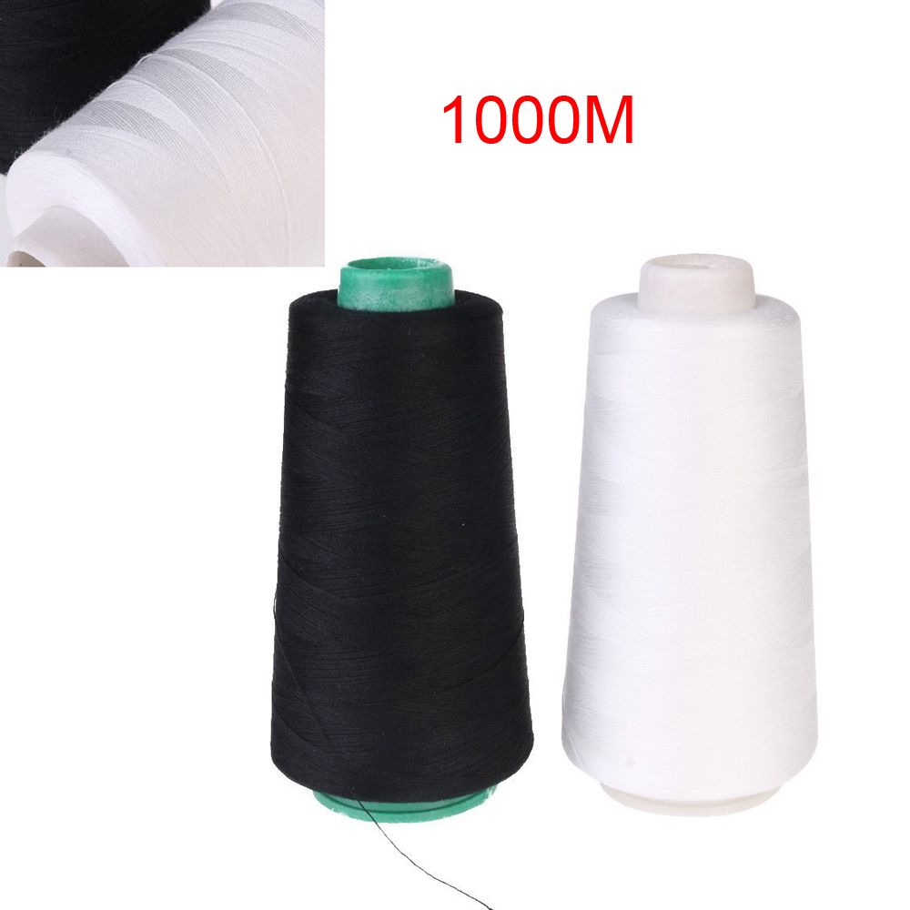 Overlocking Sewing Thread Great Value 2000m Cone perfect for Overlocking White