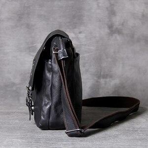 Image 3 - AETOO คลาสสิกหัว cowhide ชาย Postman Bag กระเป๋าหนังไหล่ Crossbody กระเป๋า
