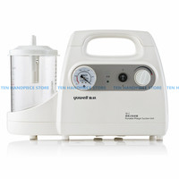 Portable Dental Vacuum Phlegm Suction Unit Electric Medical Emergency Sputum Aspirator Machine Equipment 1000mL