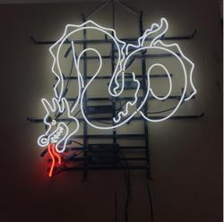 Пользовательские Дракон неоновая вывеска ручной работы светильник бар пивной паб Клубные вывески магазин деловая вывеска диета буфет еда ...