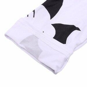 Image 4 - Klv kỹ thuật số batman prints xà cạp phụ nữ thời trang slim quần thun quần new