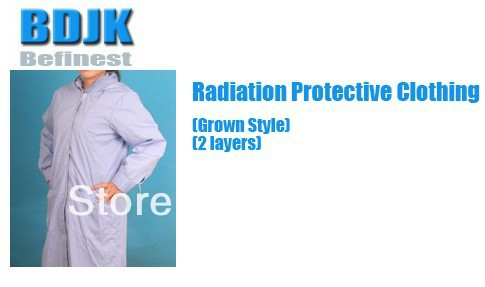Women Radiation Protective Clothing with Metal Fibrosis Conductive Fabric 2 Layers