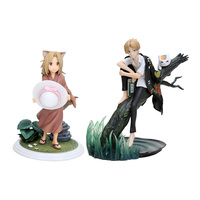Anime Natsume Yuujinchou with Nyanko Sensei Little Fox PVC Action Figure Model 18CM