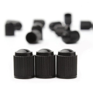 Image 3 - 20 tapas de plástico para válvula de polvo, válvula de aire para neumático de bicicleta o de coche, tapas negras para válvula de aire de neumático de motocicleta, accesorios para coche