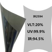 1.52m x 20m Self adhesive window security solar tint anti explosion nano ceramic film For Car Building Windows
