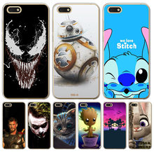 Veneno BB-8 Grout Mickey Mouse Do Ponto coringa Para Huawei P8 P9 P10 P20 Lite 2017 Pro Companheiro 9 10 20 caso Tampa Do Telefone Caso shell estojo(China)