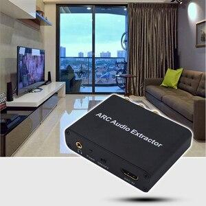 Image 5 - Kebidu الألومنيوم قوس محول الصوت HDMI مستخرج الصوت الرقمي إلى التناظرية محول صوت AUX SPDIF محوري RCA 3.5 مللي متر جاك الناتج