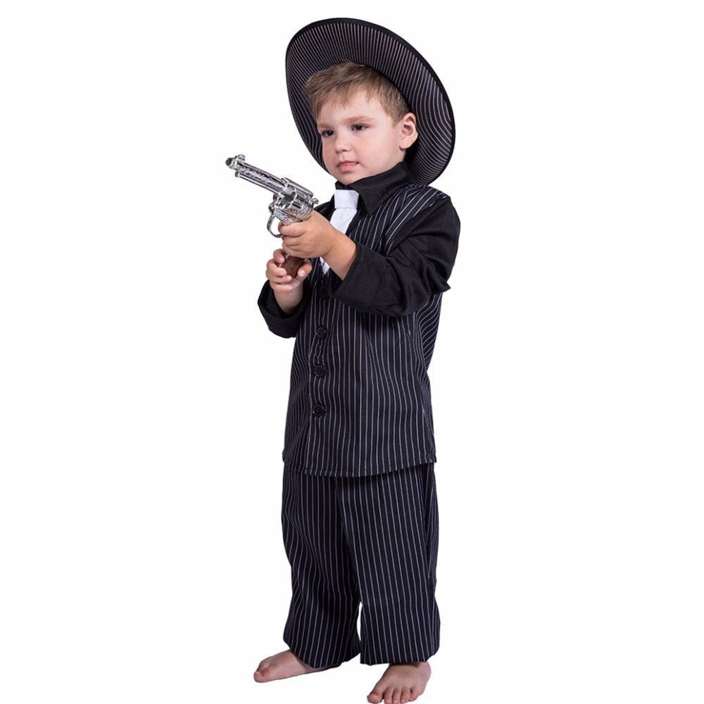 cheap halloween costumes for boys christmas costume for kids costume children gangster costumes for boy game - Kids Cheap Halloween Costumes