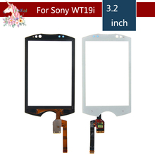 3.2 For Sony WT19 WT19a WT19i LCD Touch Screen Digitizer Sensor Outer Glass Lens Panel Replacement 10pcs lot 4 0 for sony xperia m c1904 c1905 c2004 c2005 lcd touch screen digitizer sensor outer glass lens panel replacement
