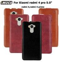 Phone Cases Xiaomi Redmi 4 Pro Cover Case Genuine Flip Leather Capa Xiaomi Redmi 4 Redmi