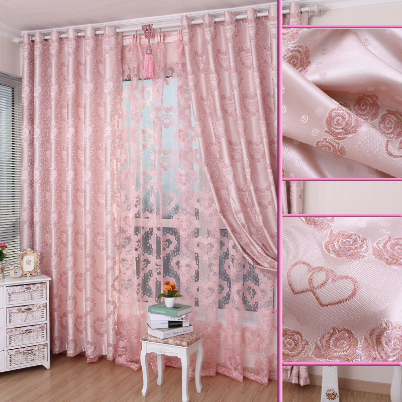 pink rose valances popular pink rose tulle window curtain buy cheap pink rose tulle