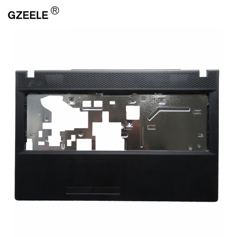 GZEELE laptop upper case top cover palmrest for Lenovo G500 G505 G510 G590 AP0Y000D00 C shell keyboard bezel without touchpad new original lenovo g500 g505 g510 15 6 base cover bottom cover ap0y0000700