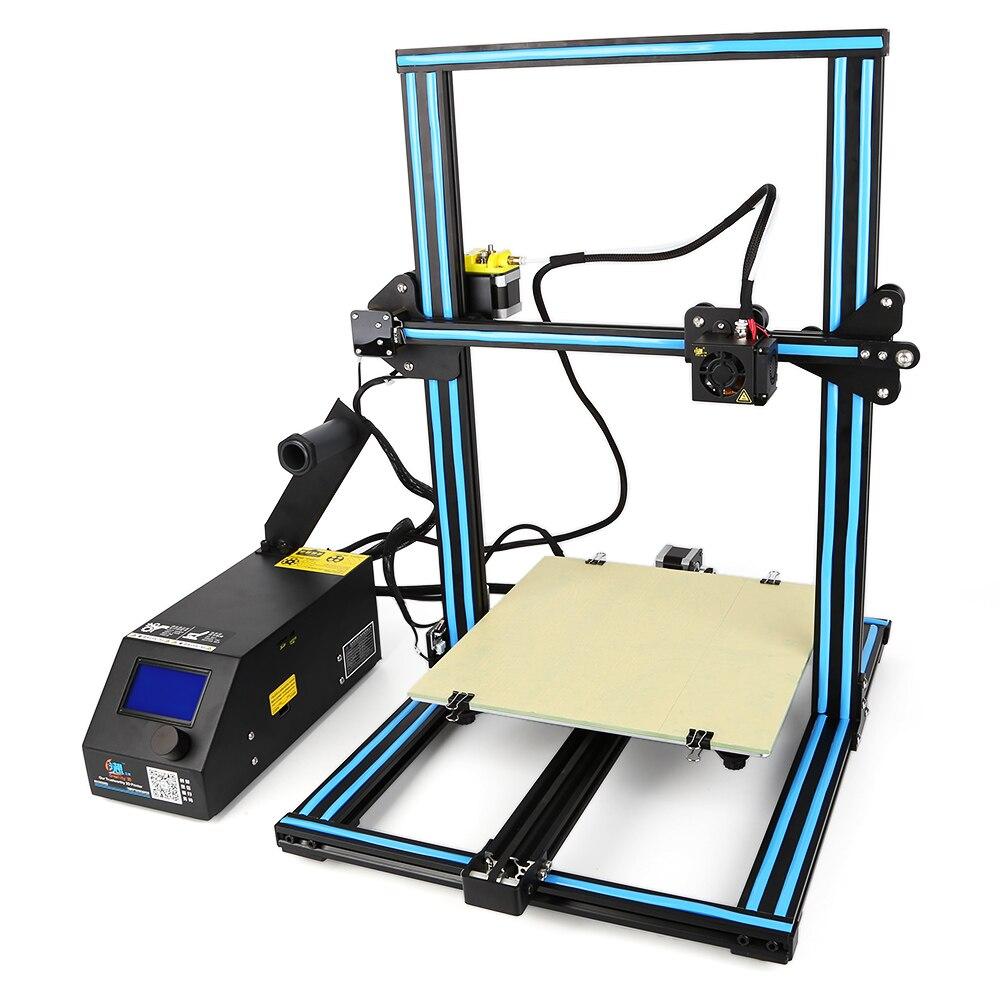 Creality3D CR-10 Grande Taille 3D Bureau BRICOLAGE Imprimante Écran LCD avec Carte SD Hors ligne D'impression kit DE BRICOLAGE
