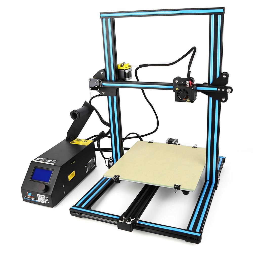Creality3D CR - 10 Large Size 3D Desktop DIY Printer LCD Screen Display with SD Card Off-line Printing DIY kit цена