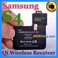 Top qualidade qi sem fio carregador receiver carregamento sem fio adaptador para samsung galaxy s4 receptor carregador sem fio