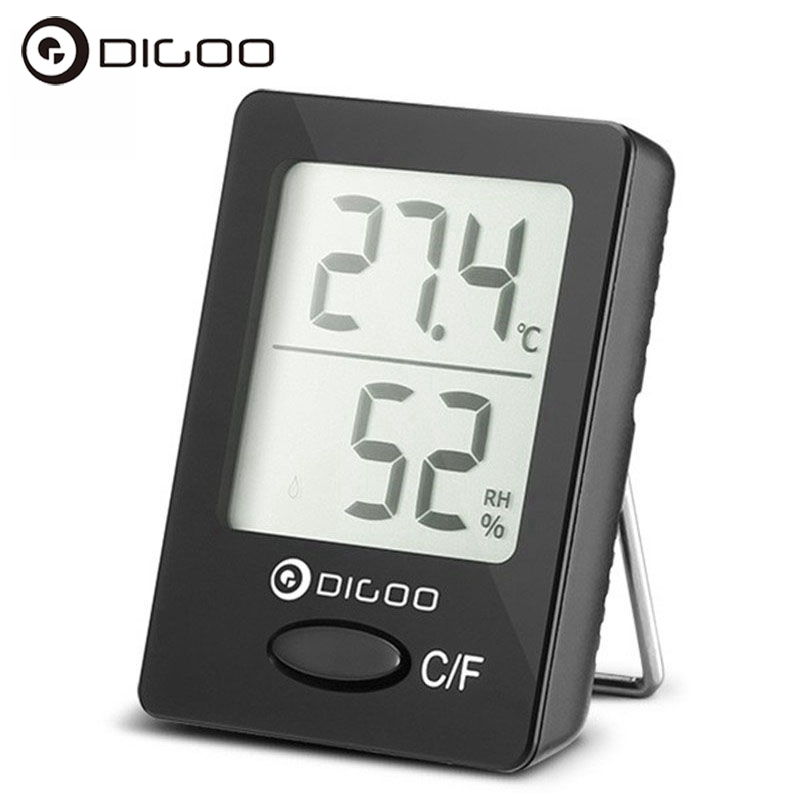 Digoo DG-TH1130 Home Confort Digital Indoor Hygrometer Thermometer Humidity and Temperature Sensor Monitor xiyuan brand diamond crystal mini evening party bag women day clutches ladies chain gold clutches purses and handbag gold silver