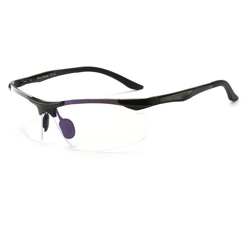 Vazrobe компьютерные очки Для мужчин блокирование синий излучения света UV400 весна петли TAC ясно Оттенок Фильм Оправы для очков для парня работы