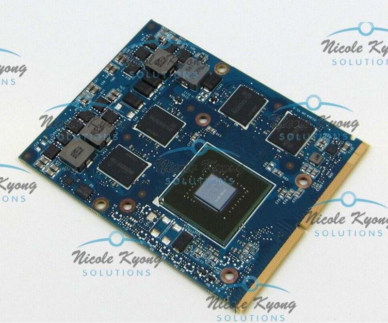 GTX 660 M GTX660M 2 GB GDDR5 Graphique VGA Carte Vidéo GTX 260 M 460 M mise à niveau Pour Dell ALIENWARE M17x R4 M18x R2 M15X M17X R3 R4
