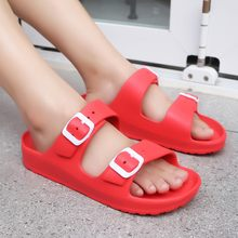 Summer Women Slippers Clogs Mules Eva Flip Flops Beach Garden Shoes Fashion Breathable Sandals Outdoor Beach Sandals Candy Color(China)