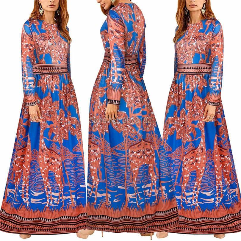 4573016cc95 Сари индийское сари платья 2018 хлопок полиэстер новая горячая мода  футболка с длинными рукавами платье с