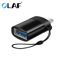 Olaf Type-C USB to USB 3.0 Mini OTG Adapter Tablet Converter OTG Cable For Xiaomi HTC Sony LG Samsung S9 USB-C OTG With The Wire цены