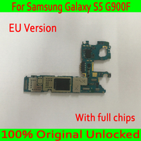 With Android System for Samsung Galaxy S5 G900F Motherboard,16GB Original unlocked for Samsung S5 G900F Logic board ,Good Tested