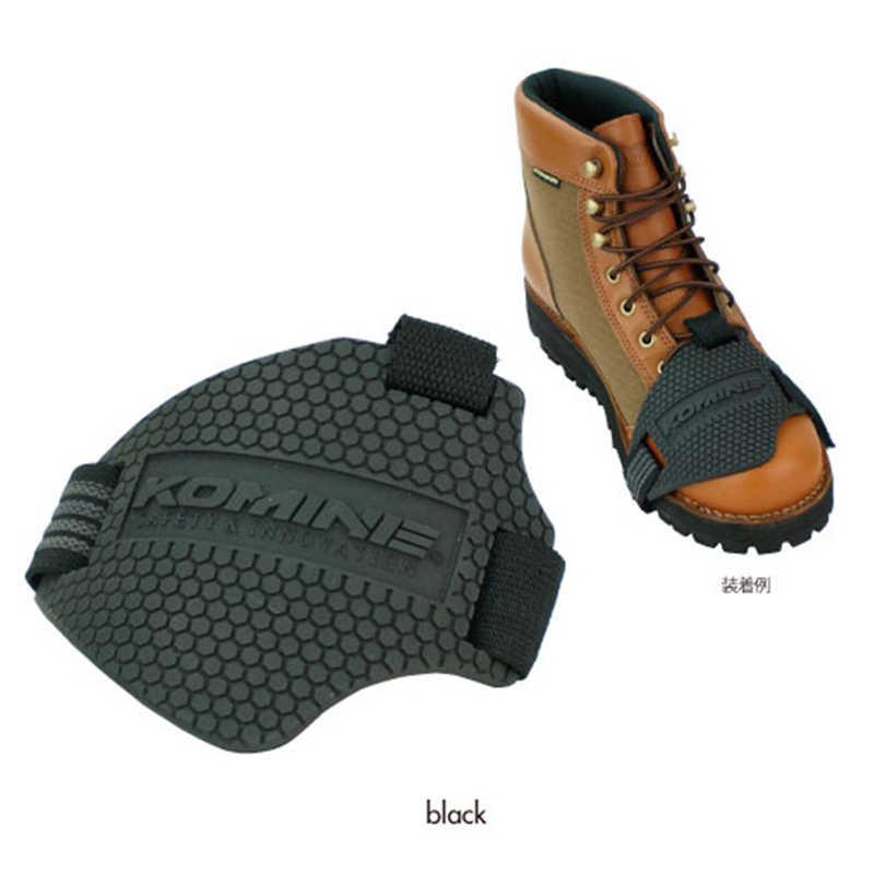 Komine износостойкая резиновая мотоциклетная Экипировка Shift Pad обувь для верховой езды Scuff Mark Protector мотоциклетные ботинки крышка Shifter Guards