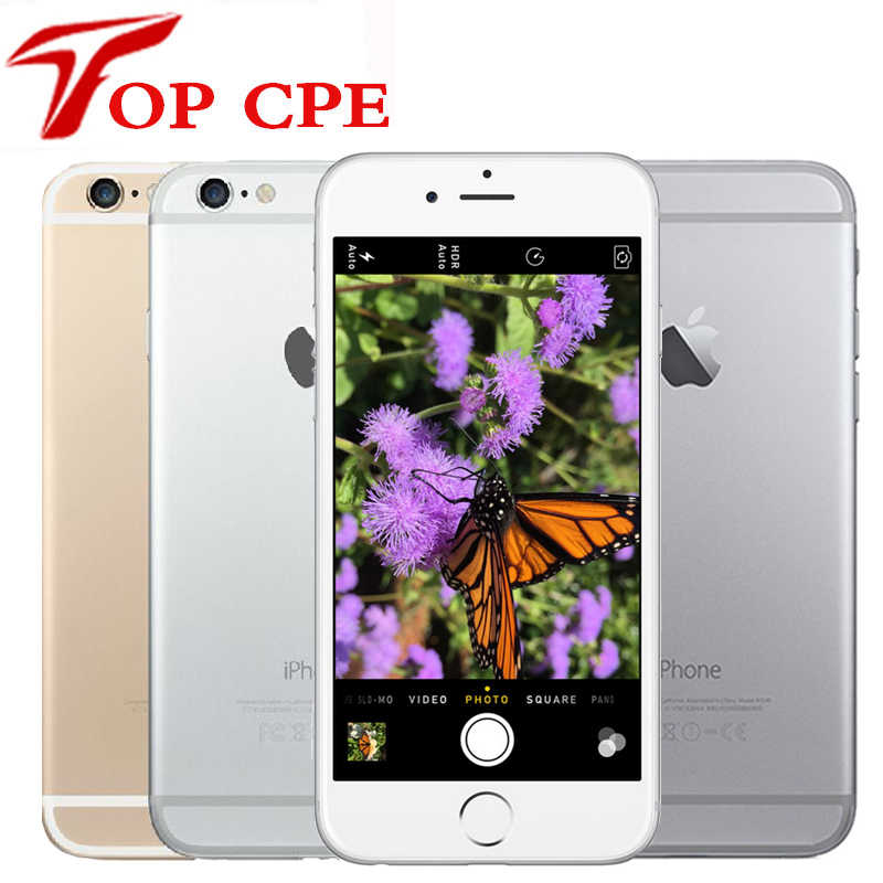 "Unlocked Original Apple iPhone 6 Plus 6P 16GB 64GB 128GB 5.5"" IOS 3G WCDMA 4G LTE 8MP Camera 1G RAM WIFI GPS Mobile Cell Phone"