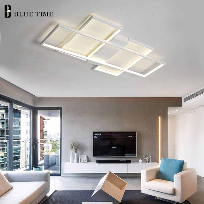 Новое поступление, светодиодный потолочный Люстра для гостиной, кабинета, спальни, алюминиевый современный светодиодный потолочный Люстра для домашнего освещения