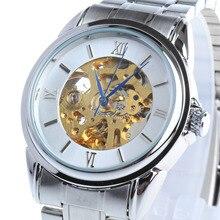 Бренд BIAOKA часы Известная Марка Мужчины Бизнес Часы Водонепроницаемые механические Часы Часы Из Нержавеющей Стали Наручные Часы Мужской Таблицы
