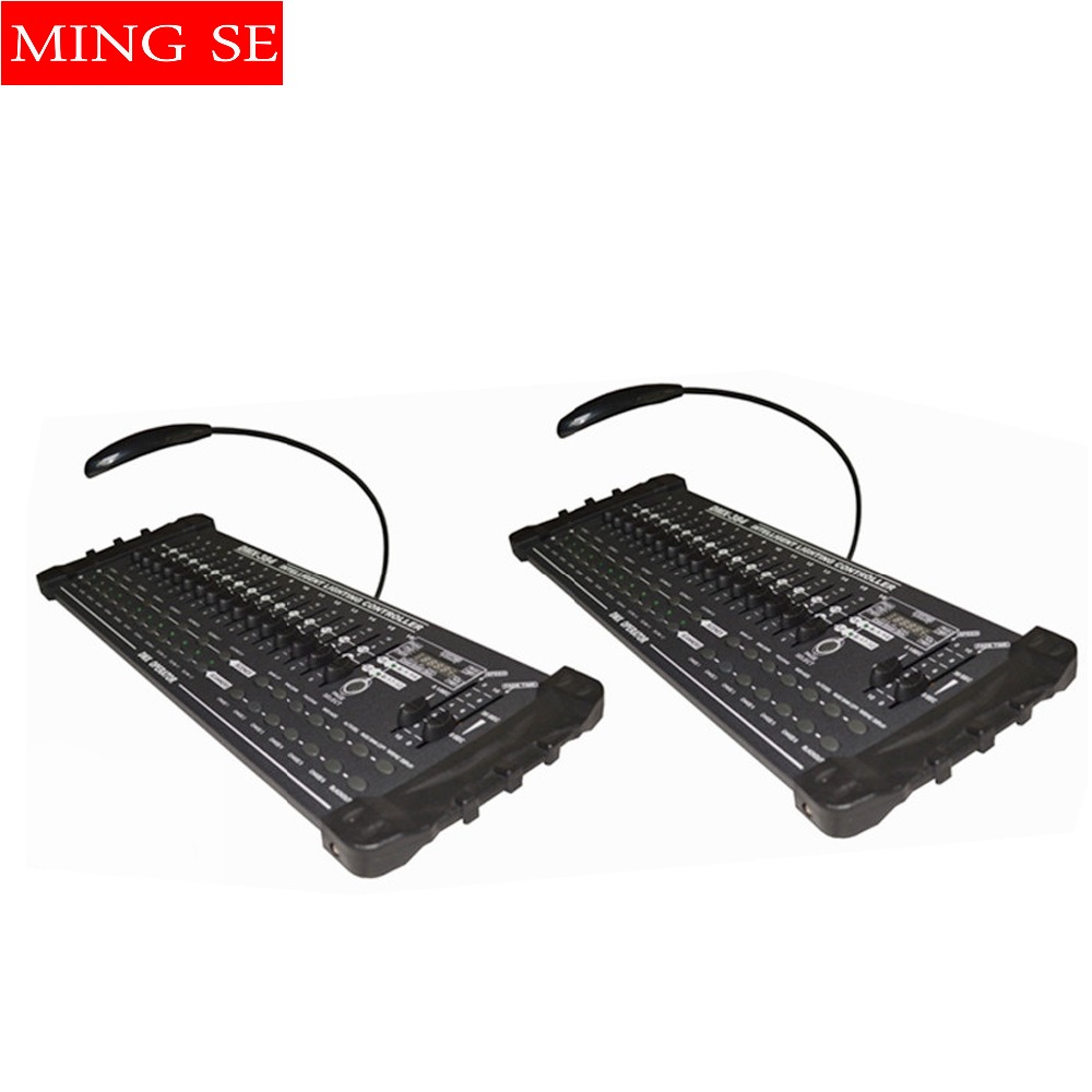 2Pcs/lots DMX 384 controller controller moving head beam light console DJ 512 dmx controller equipment