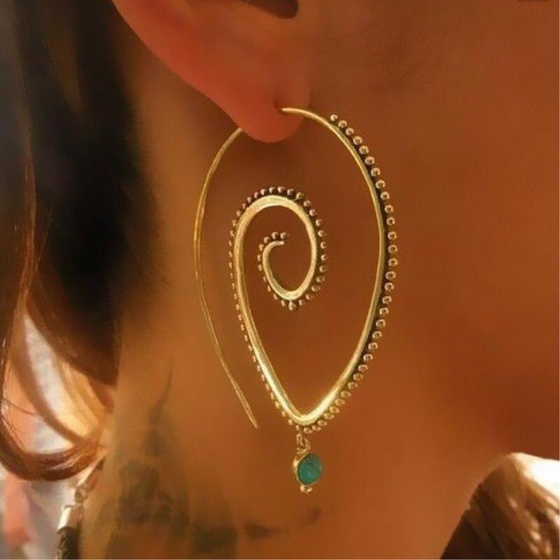 2018-New-Fashion-Swirl-Drop-Earrings-Gypsy-Tribal-Spiral-Ethic-Dangle-Earrings-Boho-Earrings-for-Women (4)