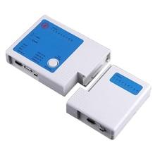 Useful USB 4 in 1 LAN Network Cable Tester Meter RJ45 Telephone RJ11 BNC 1394