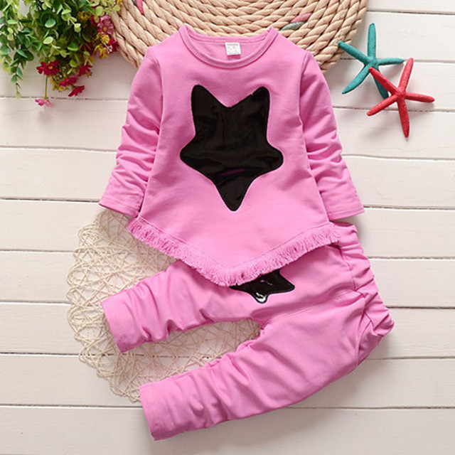 772b1be8d Newborn baby spring autumn clothing set coat+pants toddler 2pcs sport suits  for girls infant girl tracksuits costume baby set