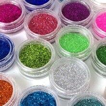 Poudre à paillettes pour vernis à ongles 24 couleurs, ZJ1317